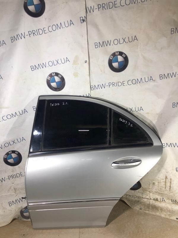 Дверь голая Mercedes-Benz C-Class W203 1.8 M111.951 задняя левая (б/у)