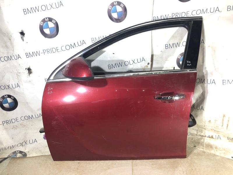 Дверь голая Opel Insignia A 2.0 DTH 2009 передняя левая (б/у)