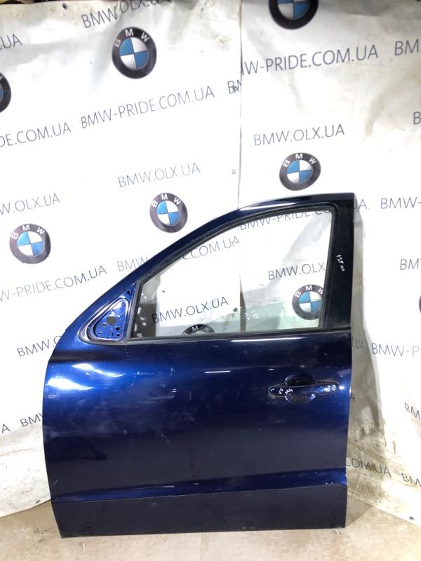 Дверь голая Hyundai Santa Fe CM 2.2 CRDI 2009 передняя левая (б/у)