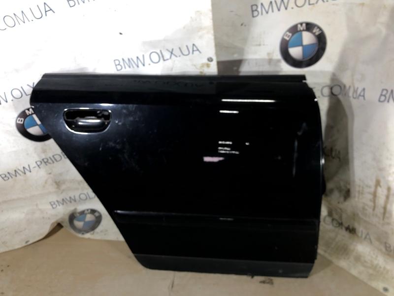 Дверь голая Audi A4 B6 2.0 ALT 2003 задняя правая (б/у)