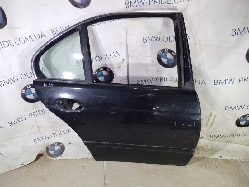 Дверь голая Bmw 5-Series E39 M47D20 2001 задняя правая (б/у)