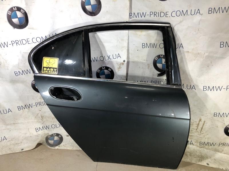 Дверь голая Bmw 7-Series E65 N62B44 задняя правая (б/у)