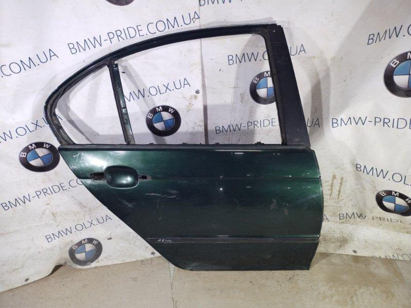 Дверь голая Bmw 3-Series E46 M43B19 1999 задняя правая (б/у)