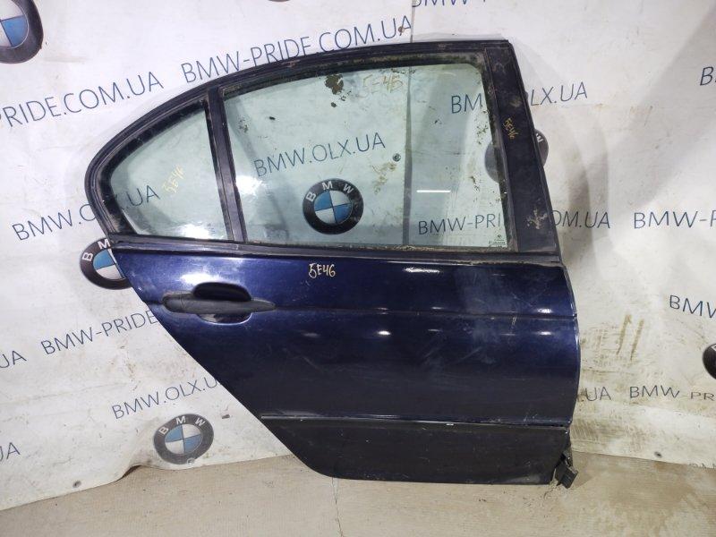 Дверь голая Bmw 3-Series E46 M43B18 задняя правая (б/у)