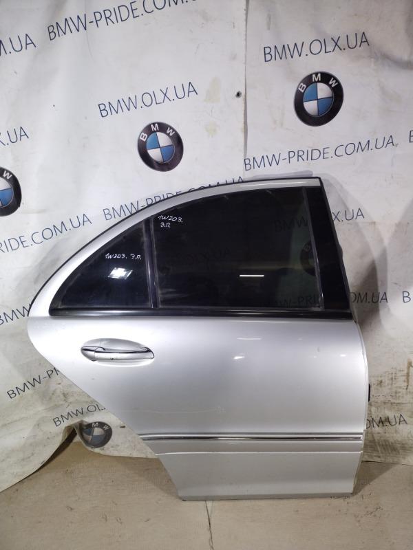 Дверь голая Mercedes-Benz C-Class W203 1.8 M111.951 задняя правая (б/у)