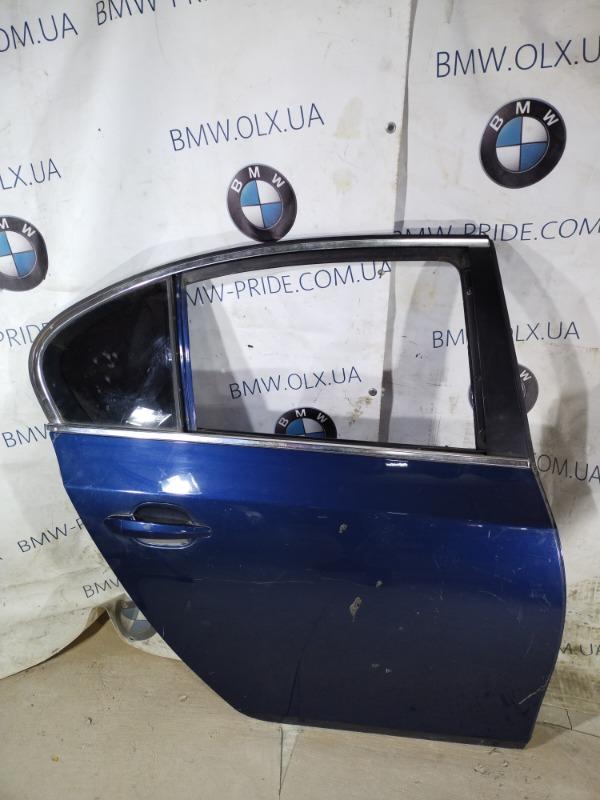 Дверь голая Bmw 5-Series E60 M54B22 2004 задняя правая (б/у)