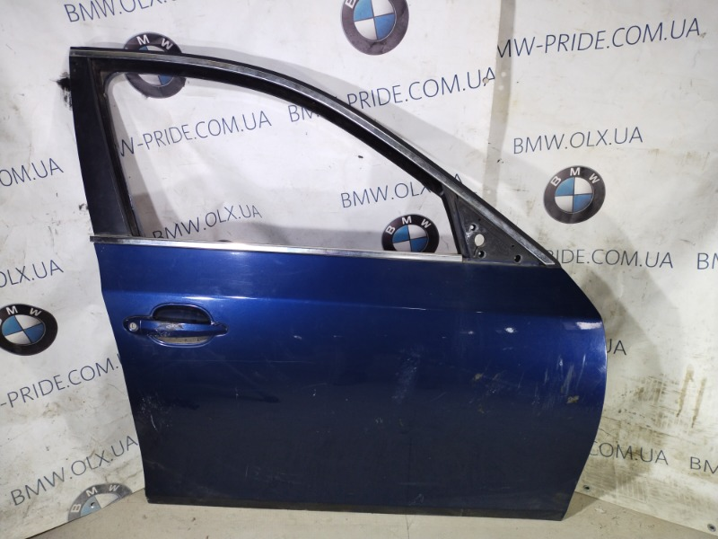 Дверь голая Bmw 5-Series E60 M54B22 2004 передняя правая (б/у)