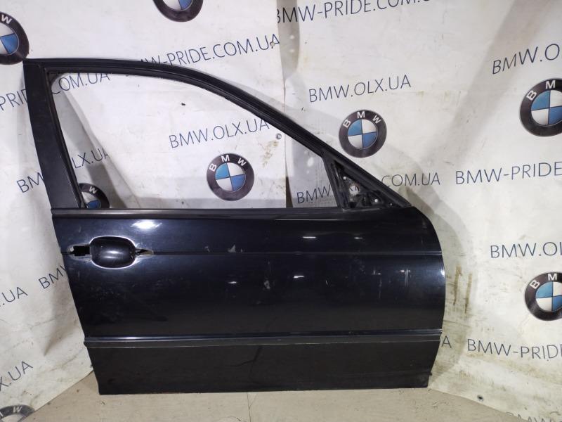 Дверь голая Bmw 3-Series E46 M43B19 передняя правая (б/у)