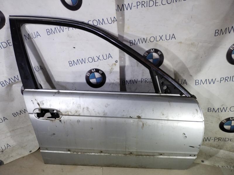 Дверь голая Bmw 5-Series E39 M52B20 передняя правая (б/у)