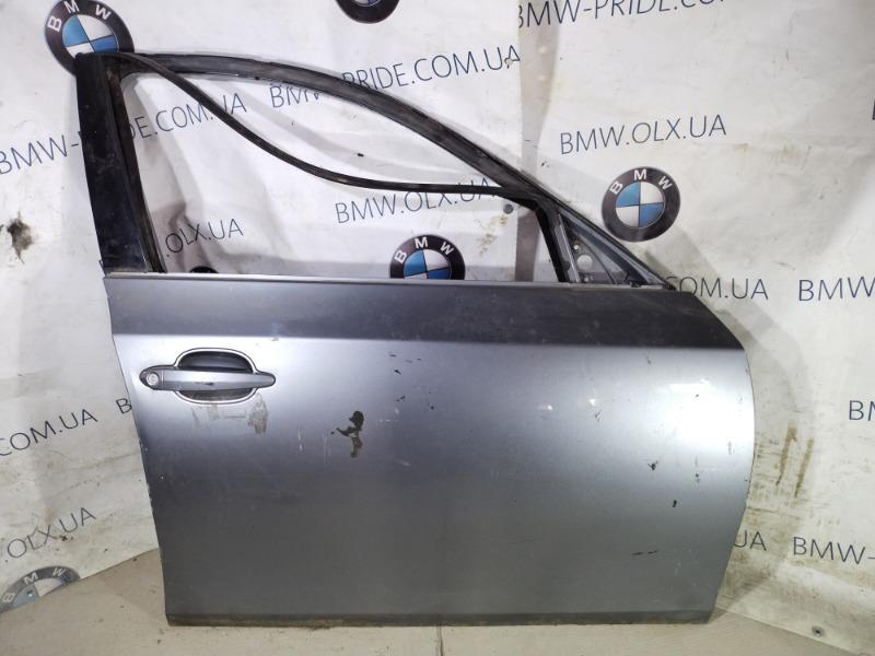 Дверь голая Bmw 5-Series E60 M54B30 передняя правая (б/у)