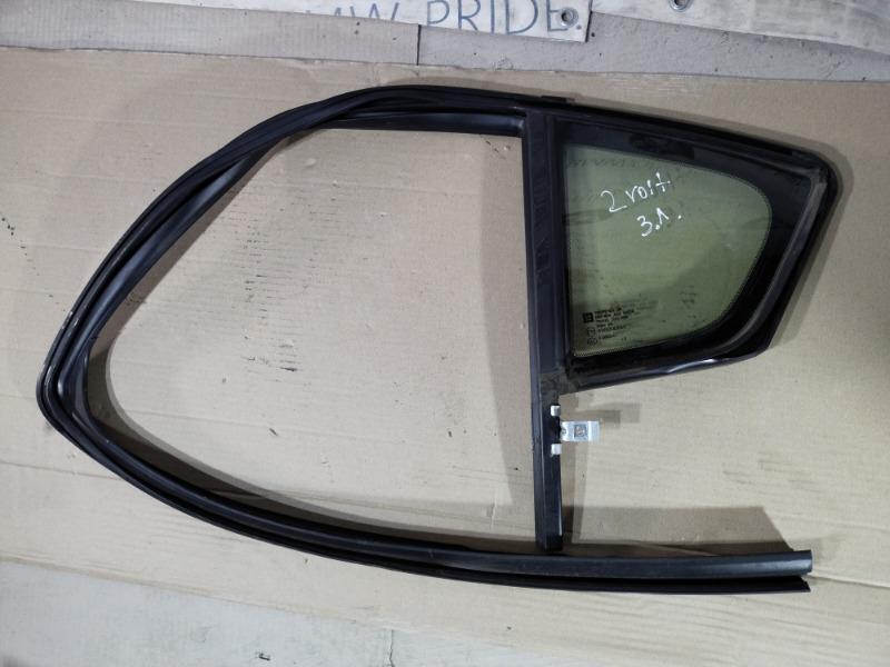 Форточка двери Chevrolet Volt 1.4 2013 задняя левая (б/у)