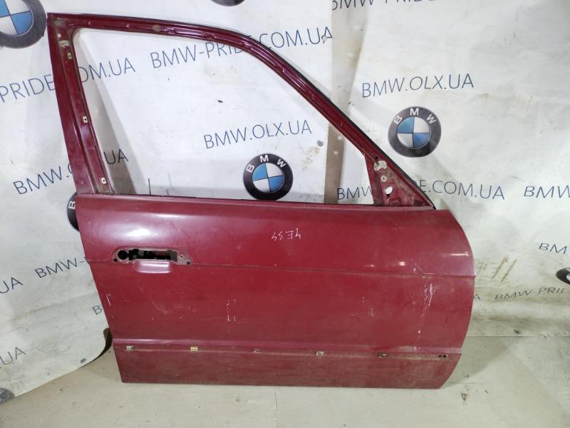 Дверь голая Bmw 5-Series E34 M50B25 1993 передняя правая (б/у)