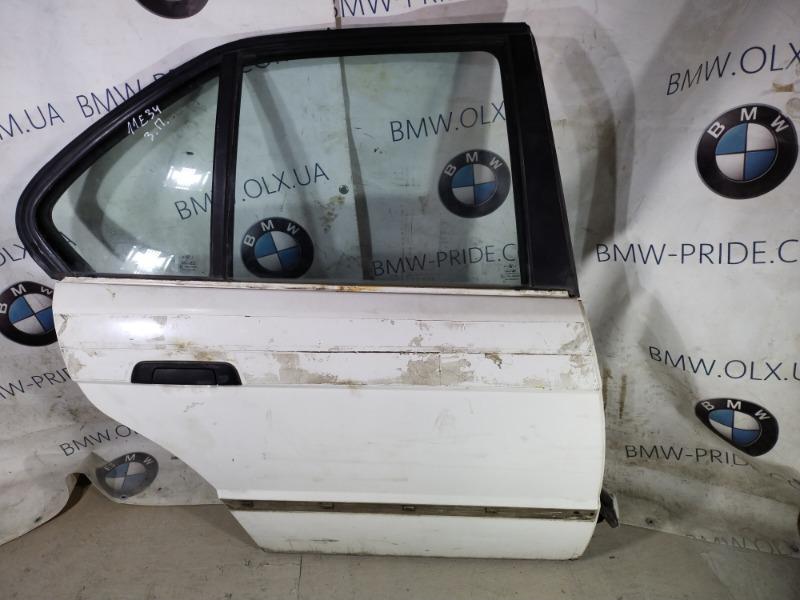 Дверь голая Bmw 5-Series E34 задняя правая (б/у)