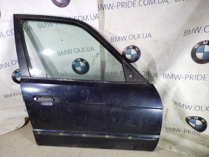 Дверь голая Bmw 5-Series E34 M50B25 передняя правая (б/у)