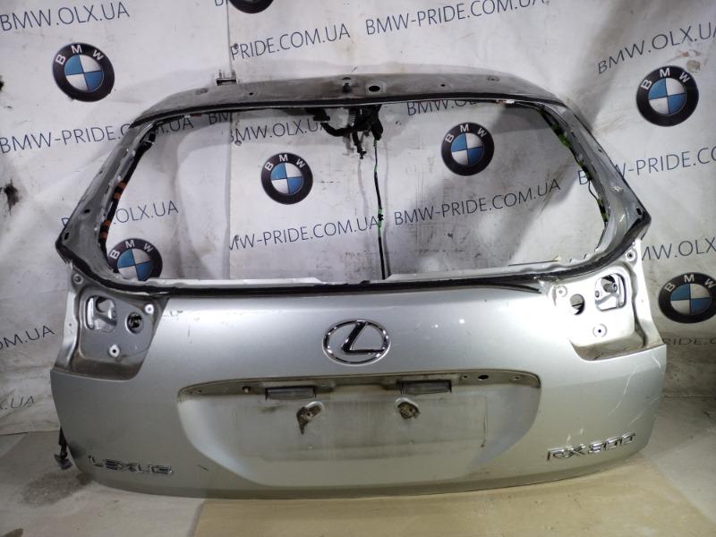 Крышка багажника Lexus Rx XU30 3.0 1MZ-FE 2007 (б/у)