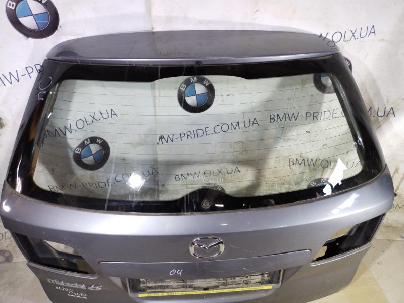 Стекло Mazda 6 GG 2.0 RF5 2002 заднее (б/у)