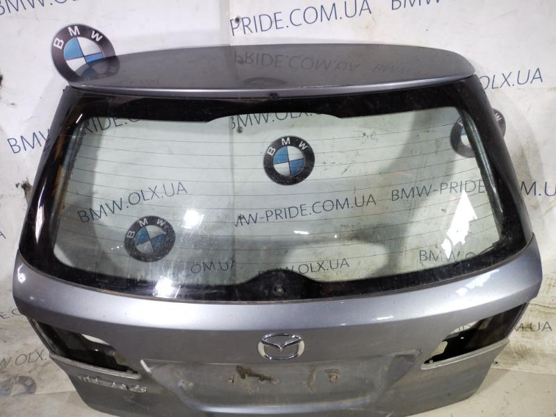 Стекло Mazda 6 GG 2.0 RF5 2004 заднее (б/у)