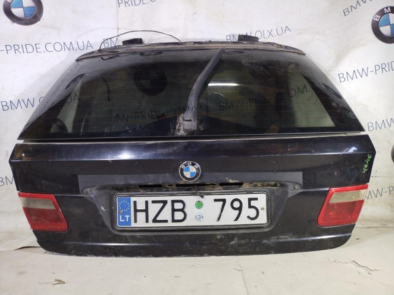 Крышка багажника Bmw 3-Series E46 M47D20 1999 (б/у)