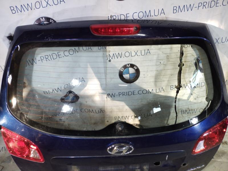 Стекло Hyundai Santa Fe CM 2.2 CRDI 2009 заднее (б/у)