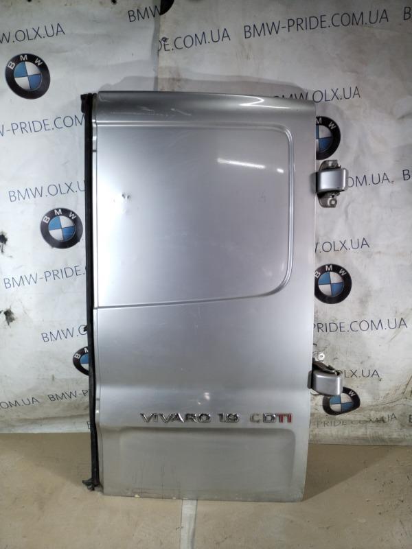 Крышка багажника Opel Vivaro 1.9 D 2007 правая (б/у)