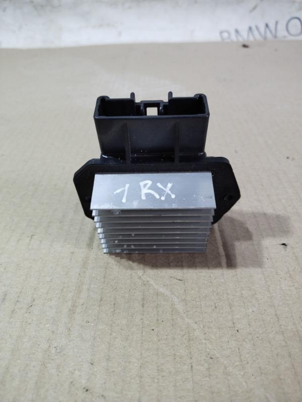 Резистор печки Lexus Rx XU30 3.0 1MZ-FE 2007 (б/у)