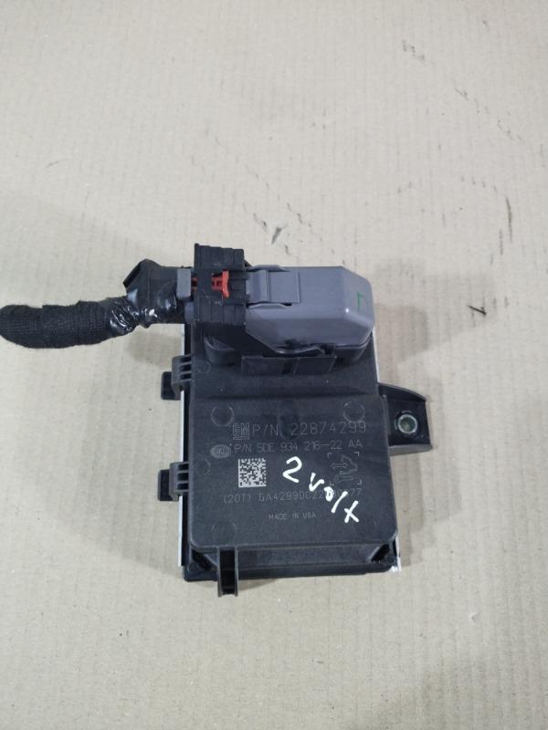 Блок управления топливным насосом Chevrolet Volt 1.4 2013 (б/у)