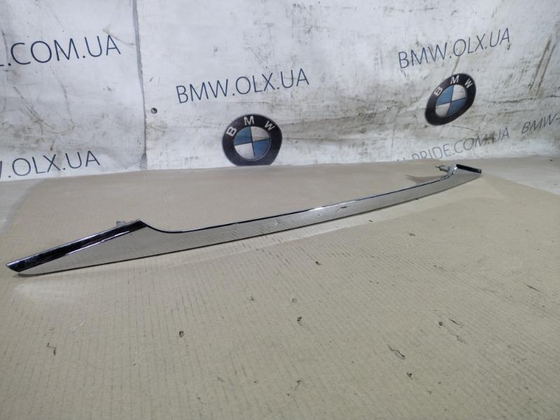 Накладка крышки багажника под ручку Hyundai Sonata YH 2.4 2013 (б/у)