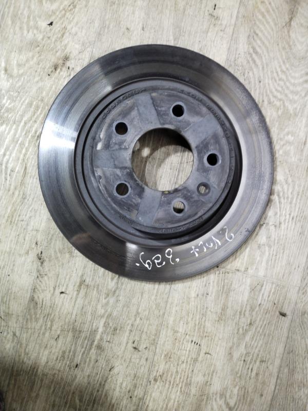 Тормозной диск Chevrolet Volt 1.4 2013 задний (б/у)