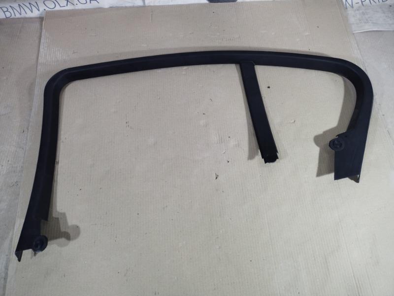 Накладка двери боковая Bmw 3-Series F30 N26B20 2013 задняя правая (б/у)