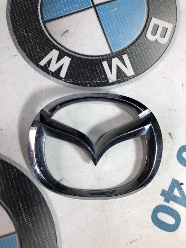 Значок Mazda 6 GH 2.0 RF7J 2008 задний (б/у)