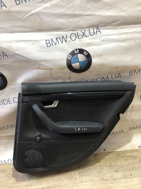 Дверная карта Audi A4 B6 1.8 BFB 2003 задняя правая (б/у)