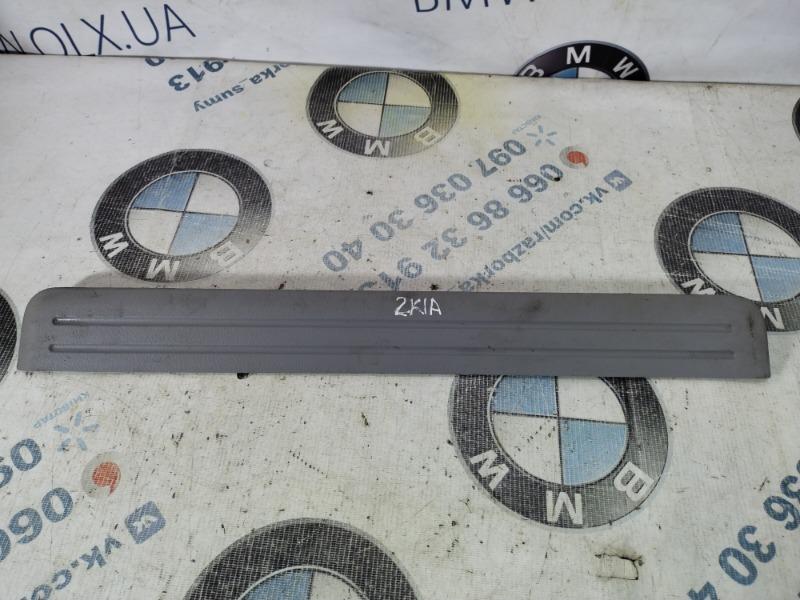 Накладка на порог Kia Sorento BL 2.5 CRDI 2007 передняя правая (б/у)