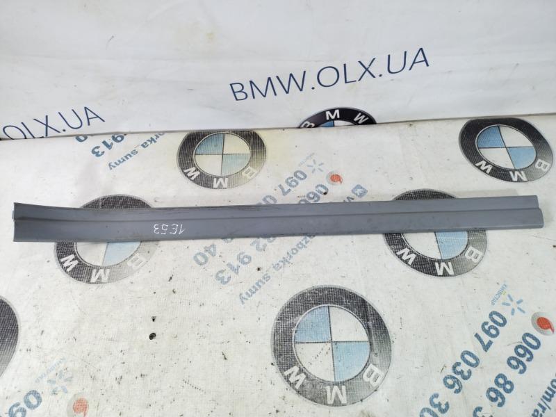 Накладка на порог Bmw X5 E53 M62B44 2003 передняя правая (б/у)