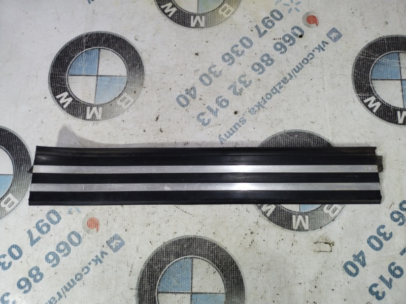 Накладка на порог Bmw 7-Series E32 M70B50 1990 задняя (б/у)