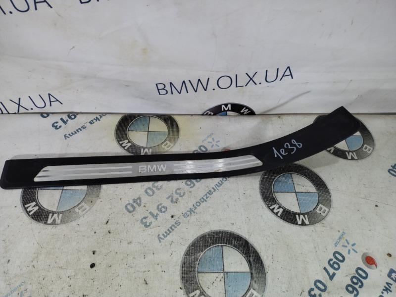 Накладка на порог Bmw 7-Series E38 M60B40 1996 задняя левая (б/у)