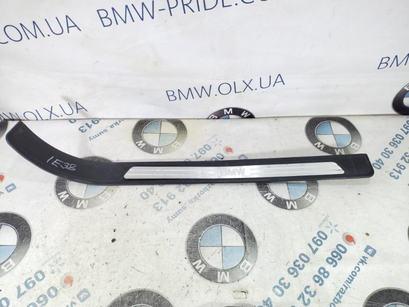 Накладка на порог Bmw 7-Series E38 M60B40 1996 передняя правая (б/у)