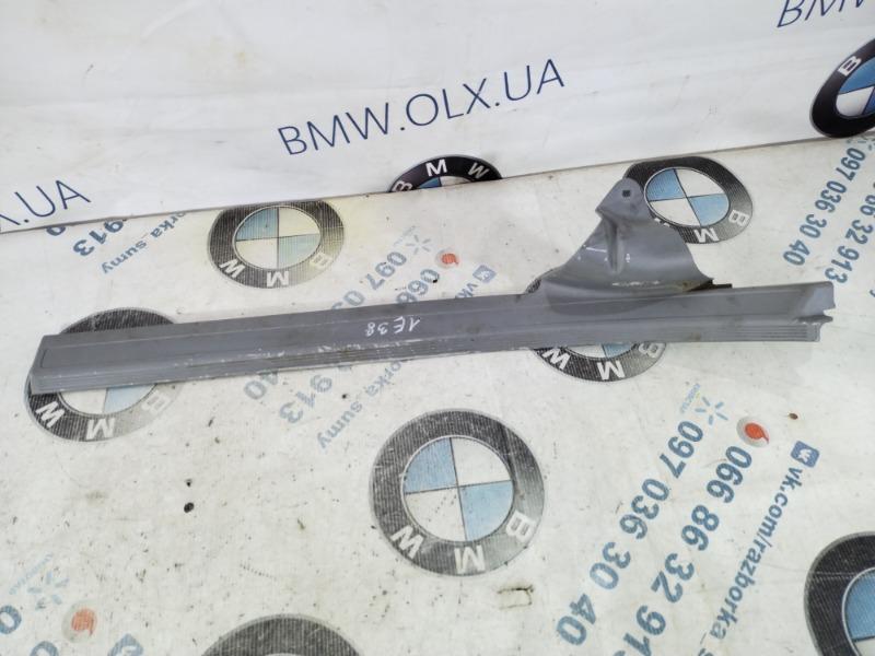 Накладка на порог Bmw 7-Series E38 M60B40 1996 задняя (б/у)