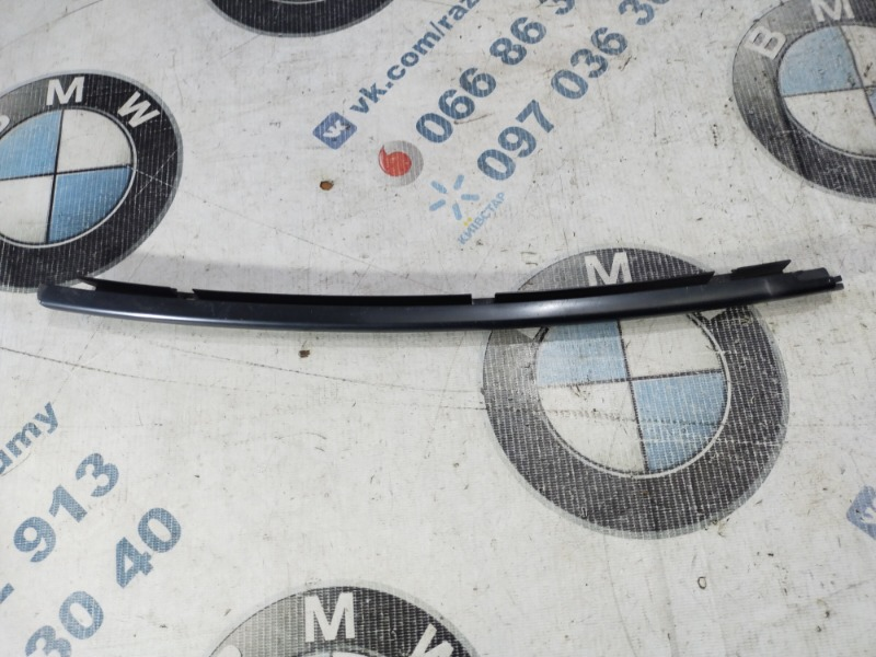 Молдинг на дверь Bmw 7-Series E65 N62B44 задний левый (б/у)