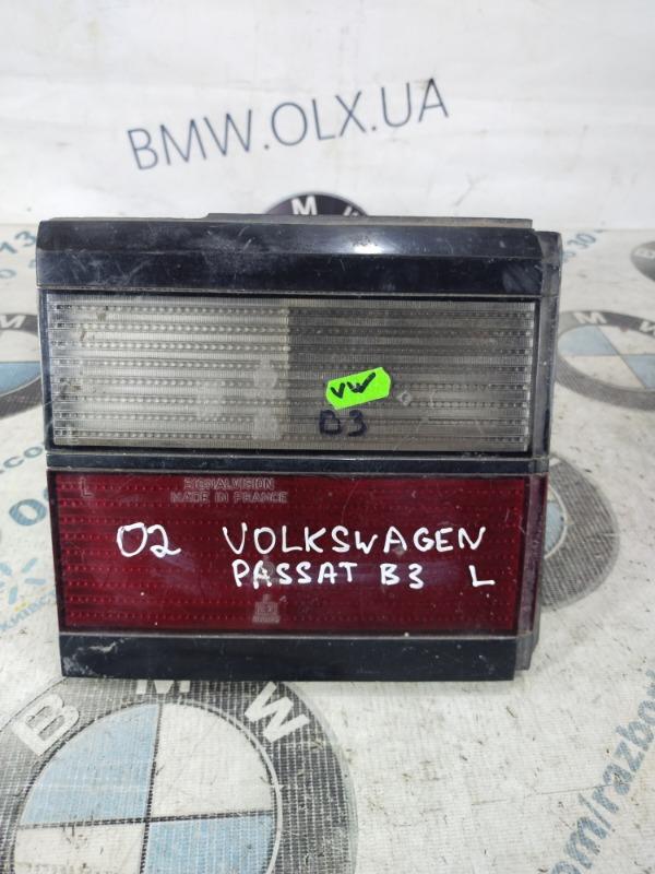 Задний фонарь Volkswagen Passat B3 левый (б/у)
