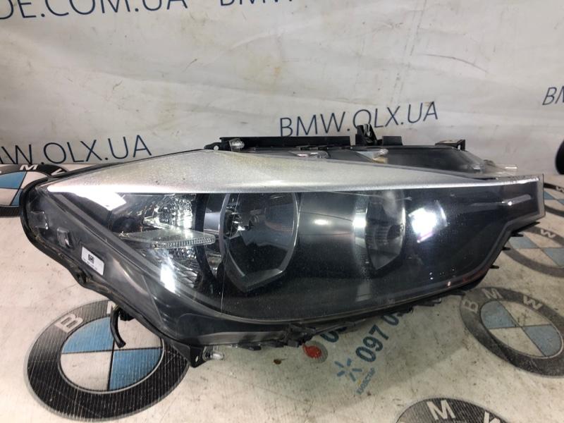 Фара Bmw 3-Series F30 N20B20 2013 передняя правая (б/у)