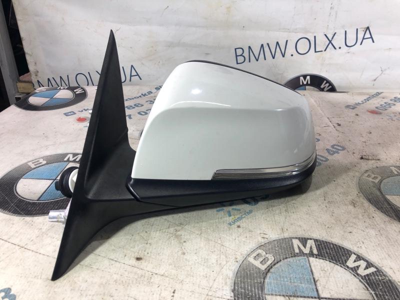 Зеркало Bmw 3-Series F30 N20B20 2013 переднее левое (б/у)
