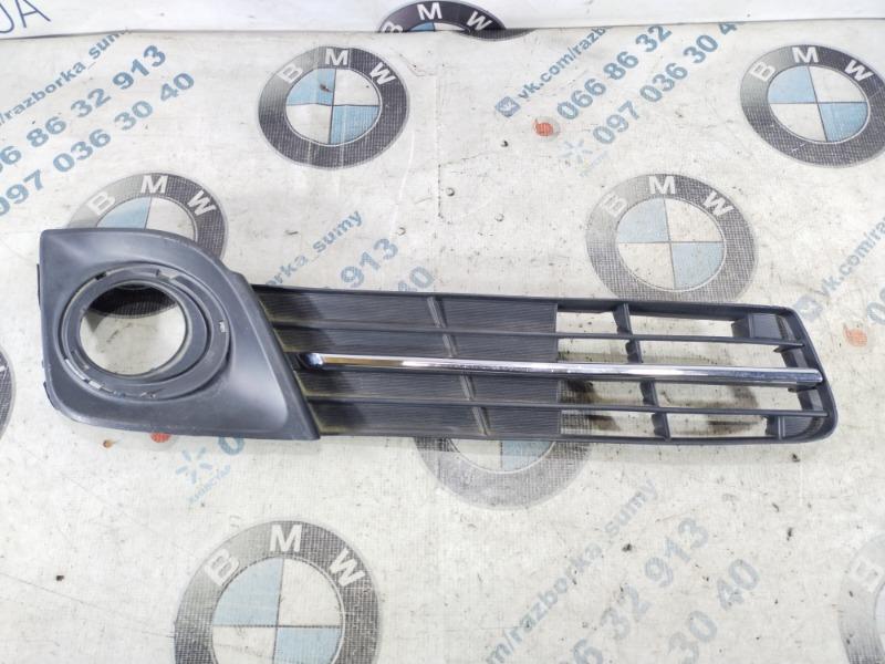 Решетка бампера Toyota Camry передняя правая (б/у)