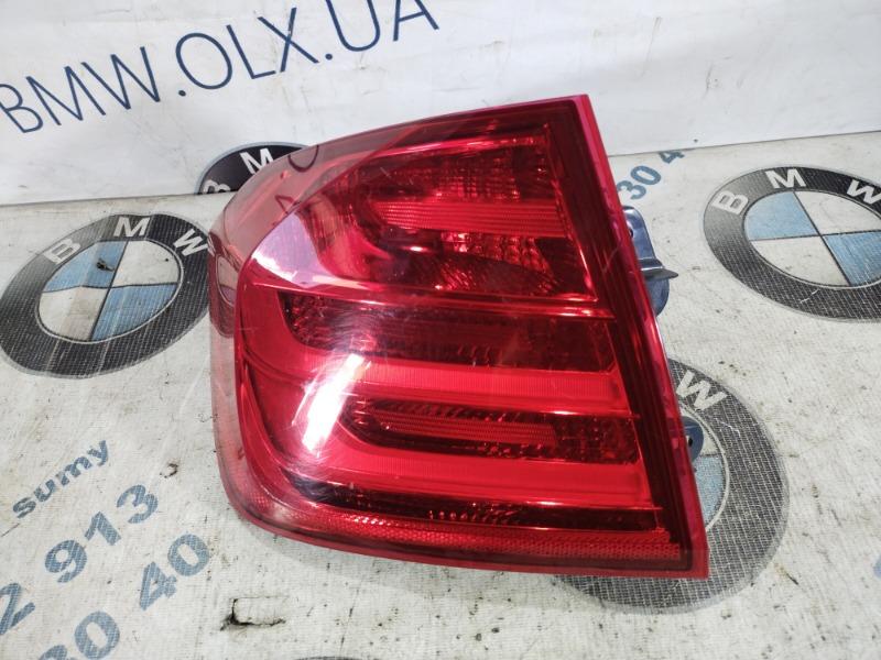 Задний фонарь Bmw 3-Series F30 N20B20 2013 левый (б/у)