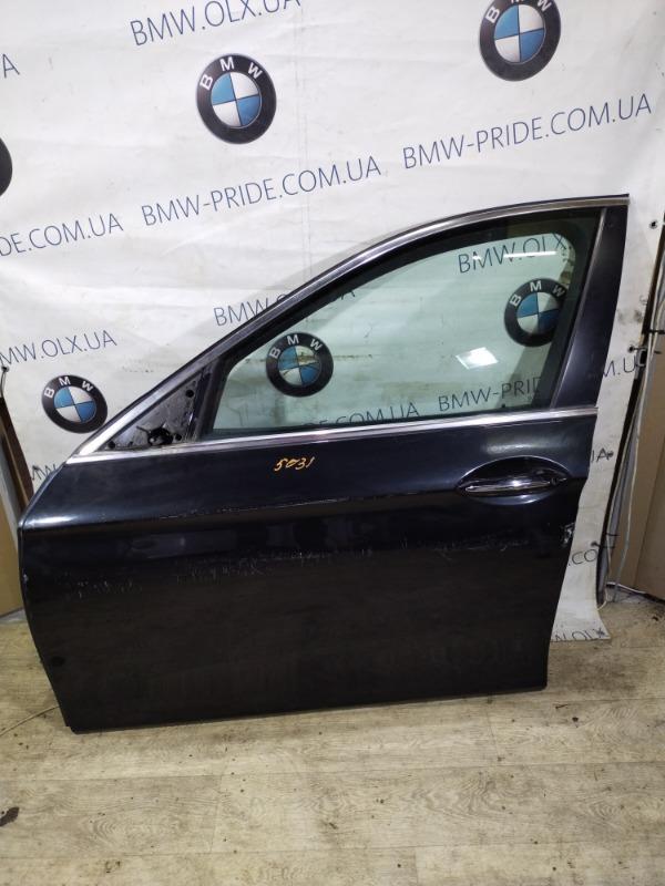Дверь голая Bmw 5-Series F10 N63B44 2011 передняя левая (б/у)