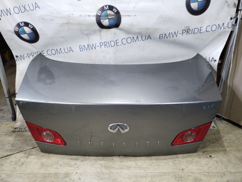 Крышка багажника Infiniti G35 (б/у)