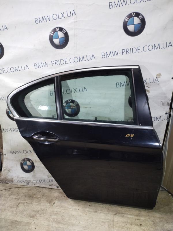 Дверь голая Bmw 5-Series F10 N63B44 2011 задняя правая (б/у)