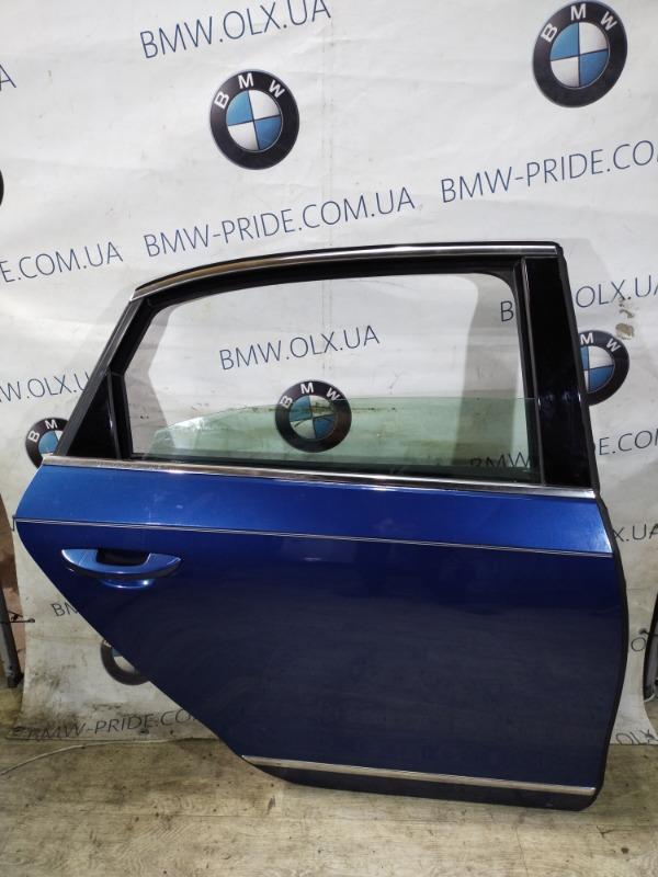 Дверь голая Volkswagen Passat B8 1.8 2016 задняя правая (б/у)