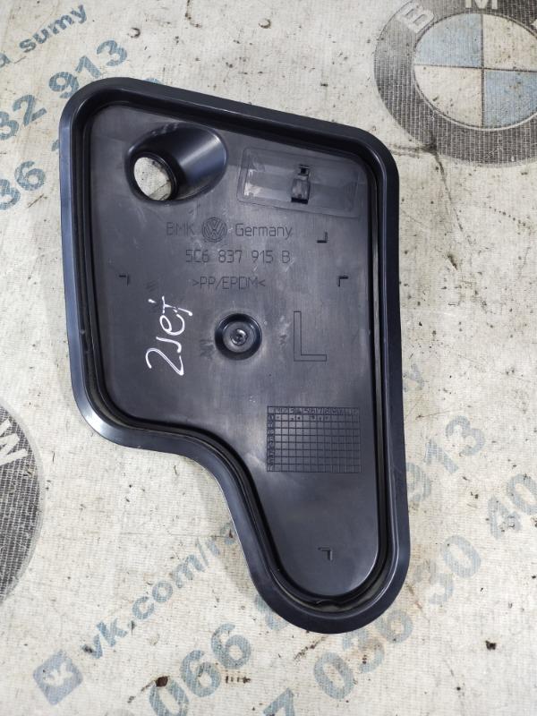 Заглушка двери Volkswagen Jetta 2.5 2011 передняя левая (б/у)