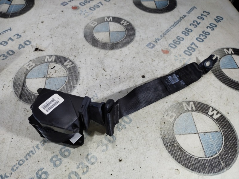 Ремень безопасности Volkswagen Passat B8 1.8 2016 задний правый (б/у)
