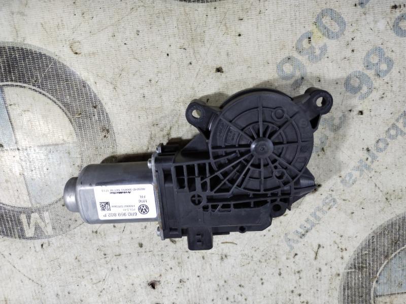 Мотор стеклоподъемника Volkswagen Jetta 2.5 2011 передний правый (б/у)